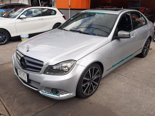mercedes benz c 200  cgi sport 2012
