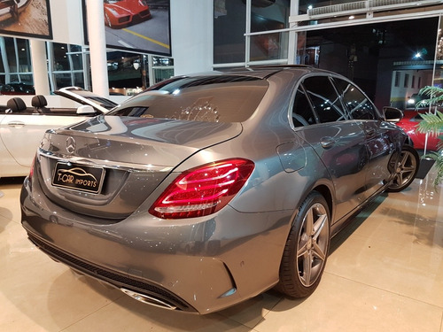 mercedes-benz c 250 2.0 sport turbo 2017 9.000km
