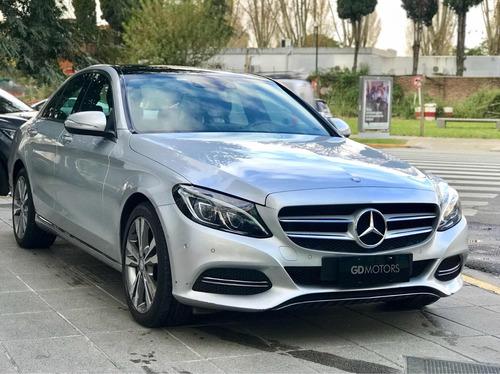 mercedes benz c 250 avantgarde linea nueva 2016 gris plata