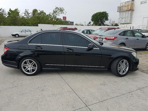 mercedes benz c 300 sport 2011 negro