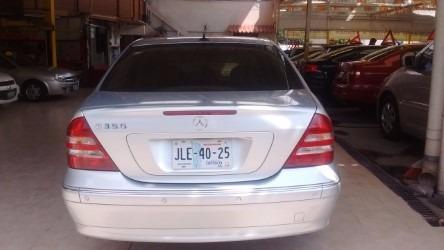 mercedes benz c 350 2004, plateado $119,900.00 ...!!!