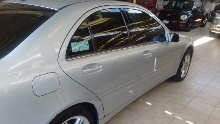 mercedes benz c 350 2004, plateado $145,000 ...!!!