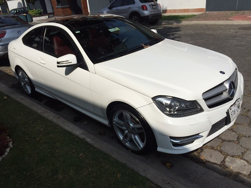 mercedes benz c 350 coupe blanco