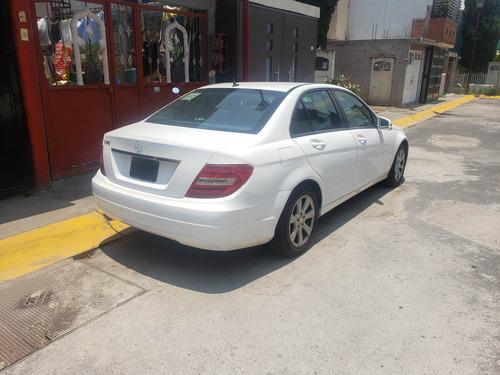 mercedes benz c180 1.8, blanco, 4 puertas