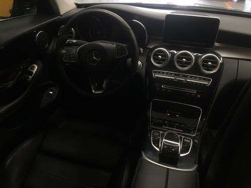 mercedes benz c180 2018 deportivo coupé turbo 2p a/t  negro