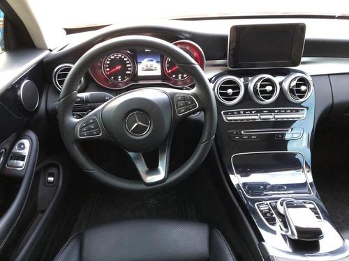 mercedes benz c180 2018 negro automático equipado coupé lujo