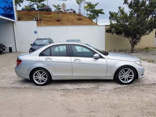 mercedes-benz c180 blindado 2012 1.8 turbo novíssimo u. dono