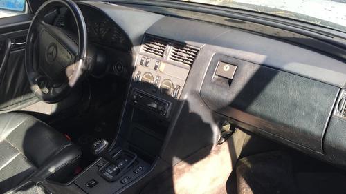 mercedes benz c200 1994  motor câmbio diferencial sucata