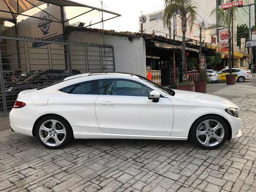 mercedes benz c200 coupe 2017 blanco