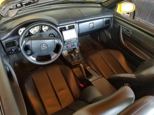 mercedes benz c230 slk kompressor roadster cabrio impecable!