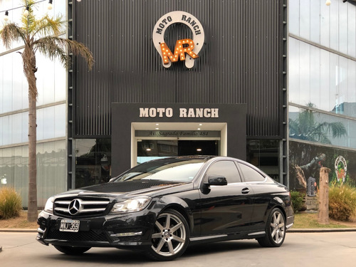 mercedes-benz c250 coupe 2013 sport amg, con 204 hp !