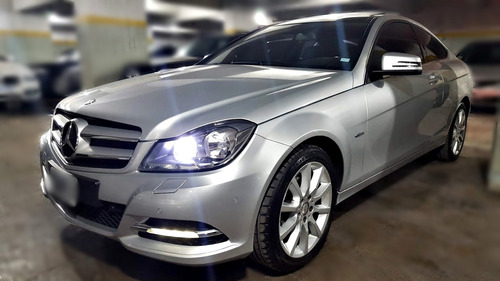 mercedes-benz c250 coupe at