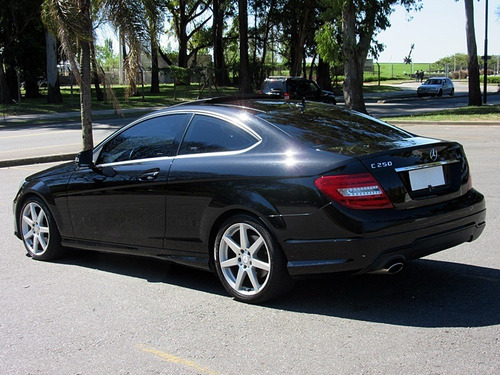 mercedes benz c250 sport coupe amg at 2013