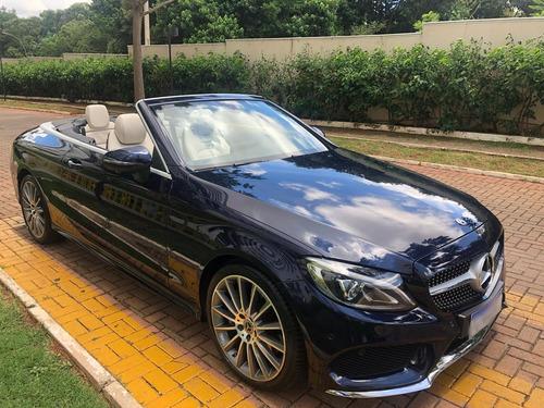 mercedes benz c300 cabriolet sport 2018 azul