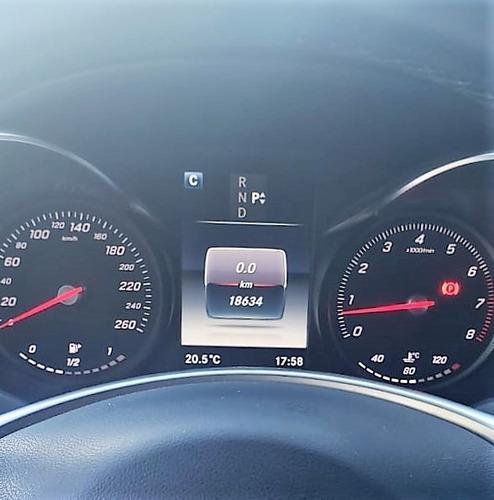 mercedes benz c300 coupe 2016 - 20.000 km