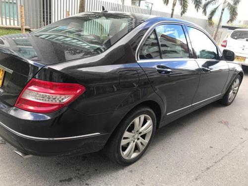 mercedes benz c350 negro modelo 2008 único dueño