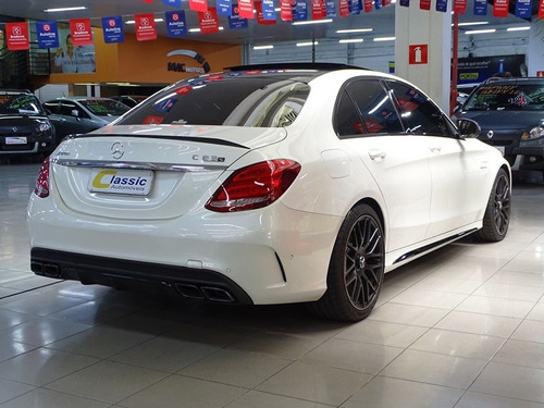 mercedes benz c63 s 4.0 bi-turbo v8