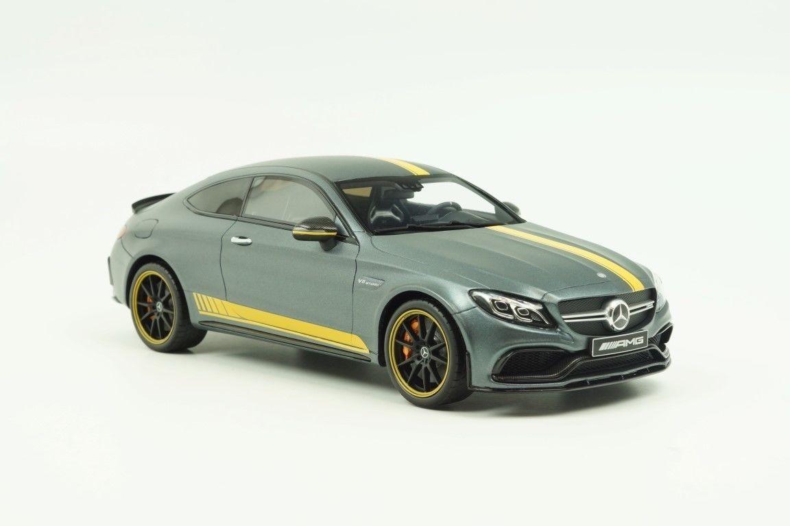 Mercedes Benz C63 S Amg Coupê Cinza Gt Spirit Encomenda. Carregando Zoom.
