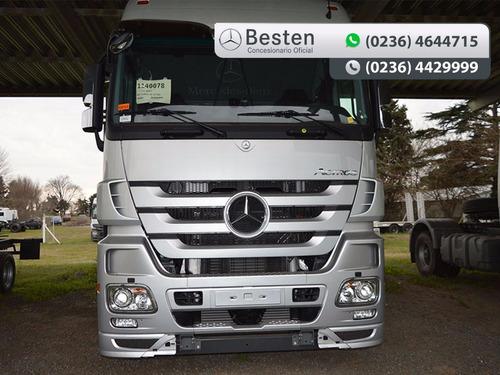 mercedes benz camiones actros 2646 s/33 6x4 0km adjudicado