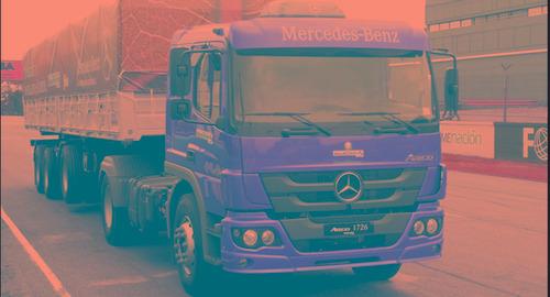 mercedes benz camiones atego 1726 s/36 2017 0km