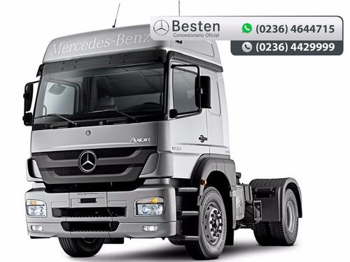 mercedes benz camiones axor 3131/48 6x4 cuotas y anticipo.