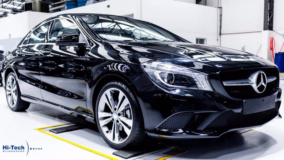Mercedes benz cla 200 blindado hi tech 2016 r for Mercedes benz techs