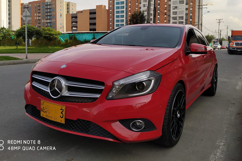 mercedes-benz clase a mt 1.6 turbo. 2014