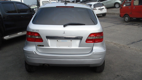 mercedes benz clase b170 modelo 2007 color gris plata