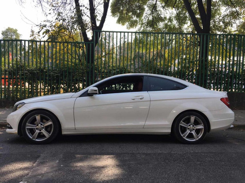 mercedes-benz clase c 1.8 180 coupe at 2013