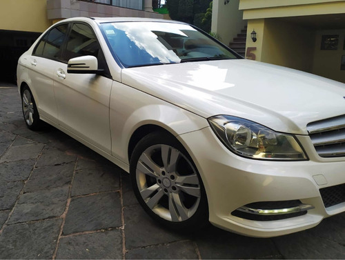 mercedes-benz clase c 1.8 200 cgi exclusive at 2013