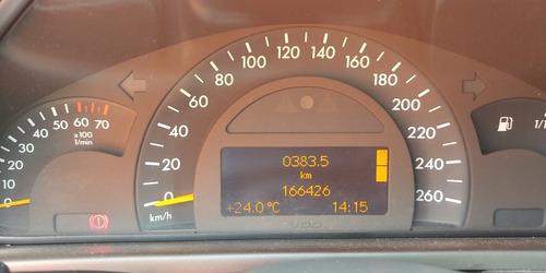 mercedes-benz clase c 1.8 200 kompressor avantgarde mt 2002