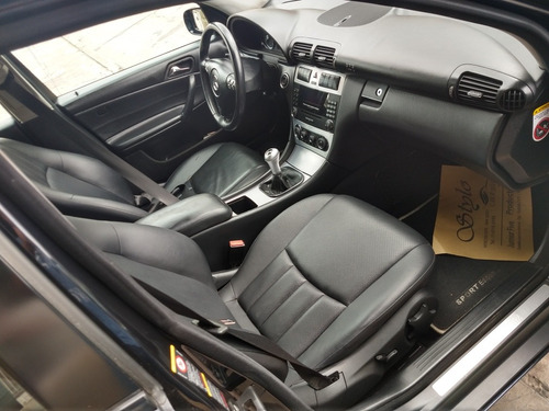 mercedes-benz clase c 2.0 c200 kompressor sport edition 2007