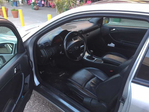 mercedes-benz clase c 2.0 c200 sportcoupe kompre 2001