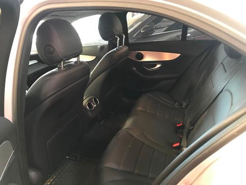 mercedes benz clase c 250 gris  modelo 2016