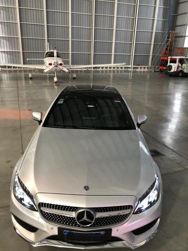 mercedes-benz clase c 3.0 c400 coupe amg-line  2018 hoffen