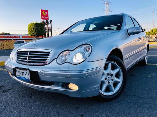 mercedes-benz clase c 320 modelo 2004 autos puebla
