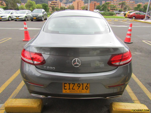 mercedes benz clase c c 200 coupe 2.0 at