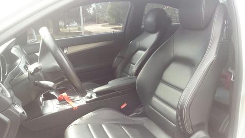 mercedes benz clase c c180 coupe blue efficiency automatica