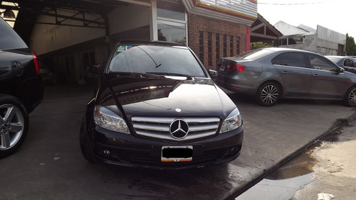 mercedes benz clase c200 2010 negro
