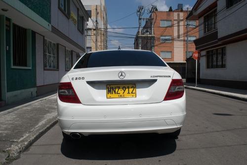 mercedes-benz clase c200 compresor 2009