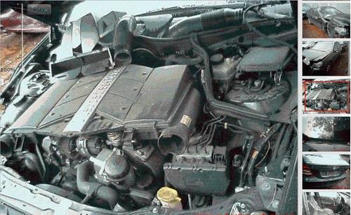 mercedes benz clase c230 v6 chocado por partes