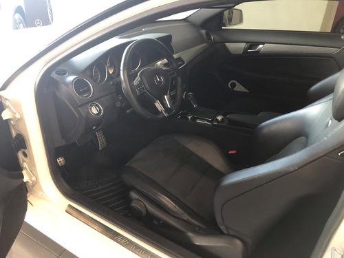 mercedes benz clase c63 coupe 2012