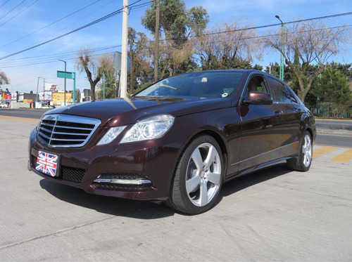 mercedes-benz clase e 1.8 250 avantgarde mt 2011