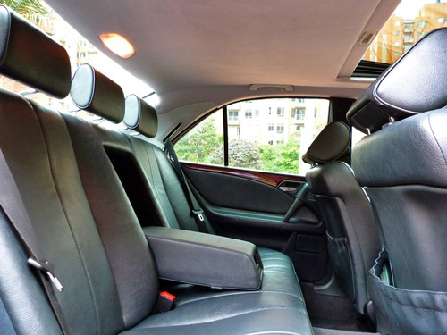 mercedes benz clase e 200 automático 2.0 sunroof airbags