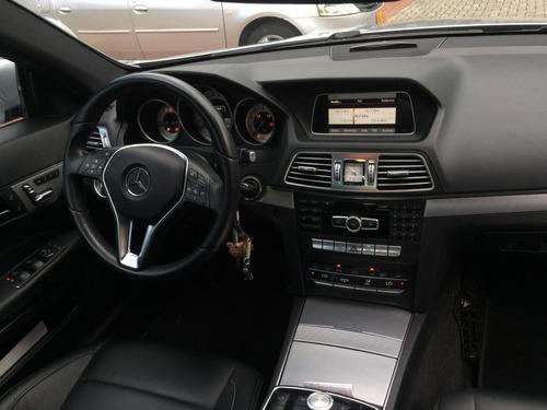 mercedes-benz clase e 250 cgi 2.0 coupe 2014 plata 3 puertas