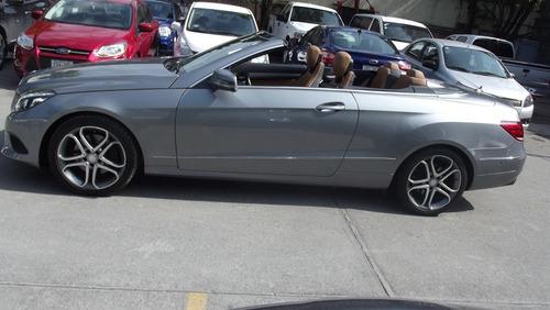 mercedes benz clase e 250 cgi aut ac convertible 2014