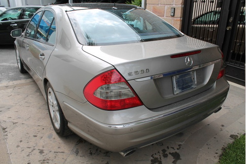 mercedes benz clase e-500 2008 avantgarde credito