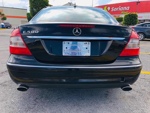 mercedes-benz clase e 5.0l 500 avantgarde  2007 autos puebla