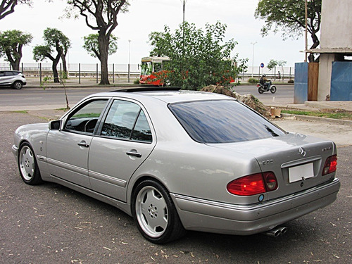 mercedes-benz clase e 55 amg at 1999