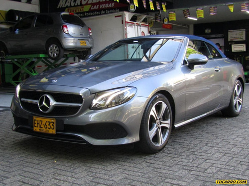 mercedes benz clase e cabriolet 2000 cc at turbo